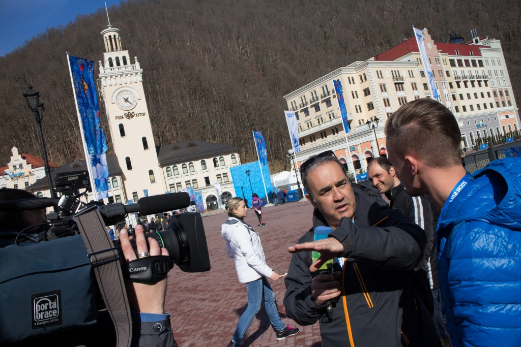 Sochi interview Russian TV